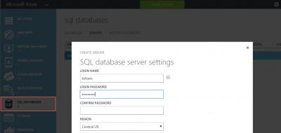 NAV2016: Azure SQL Unterstützung
